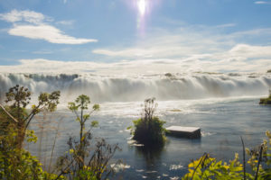 Der Faxi-Wasserfall im Golden Circle in Island