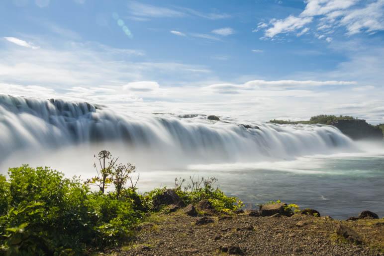 Der Faxi-Wasserfall in Islands Golden Circle