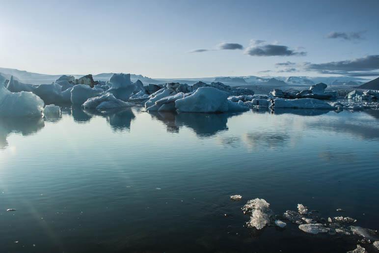 Eisberge auf dem Gletschersee Jökulsárlón