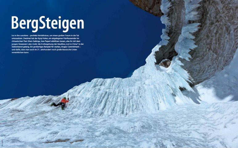 Bergsteigen - Foto: L. Lindic