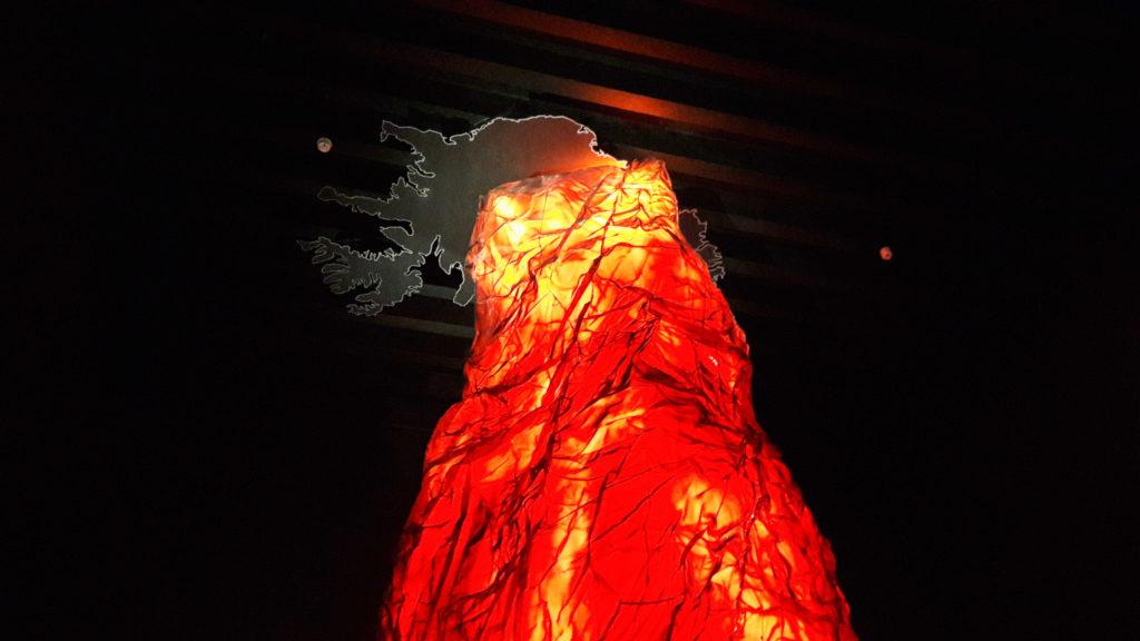 Die Mantelplume mit Island on top. Eine beeindruckende Simulation