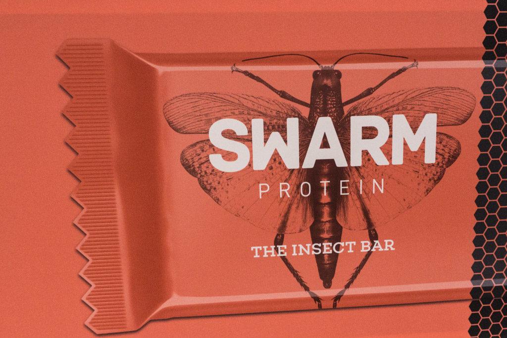 Da sieht man gleich, was drin steckt: Der Swarm-Riegel