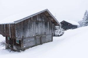 Zwei Hütten