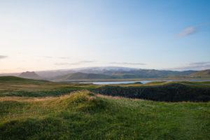 Die Aussicht vom Dyrhólaey nach Nordwesten