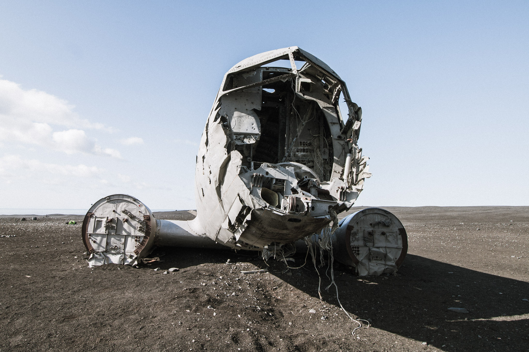 Karte Island Flugzeugwrack.Das Flugzeugwrack Am Strand Von Solheimasandur Auf Den Berg De