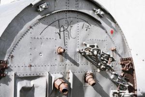 DIe Reste der Turbine