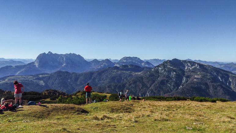 Blick auf das benachbarte Kaisergebirge