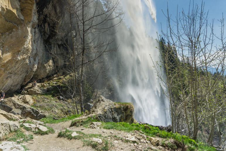 Am Schleierwasserfall