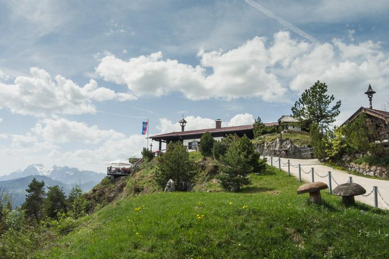Die Berggaststätte Paulshütte auf der Kneifelspitze