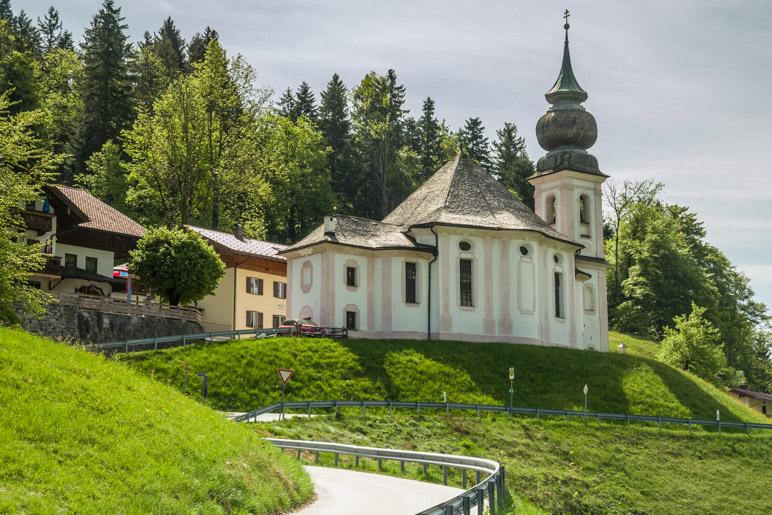 Die Wallfahrtskirche Maria Gern, Startpunkt unserer Wanderung