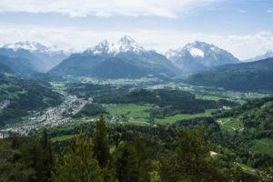 Der Watzmann direkt gegenüber – hervorragende Aussicht von der Kneifelspitze