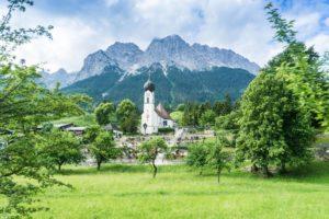 Grainau und das Wettersteingebirge
