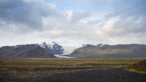 Der Hvannadalshnúkur, mit 2110 Metern Höhe Islands höchster Berg