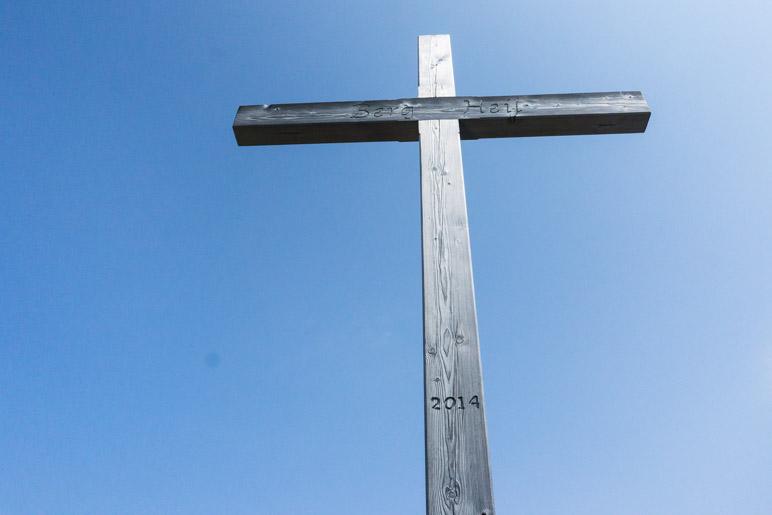 Am Friedenrath-Gipfelkreuz