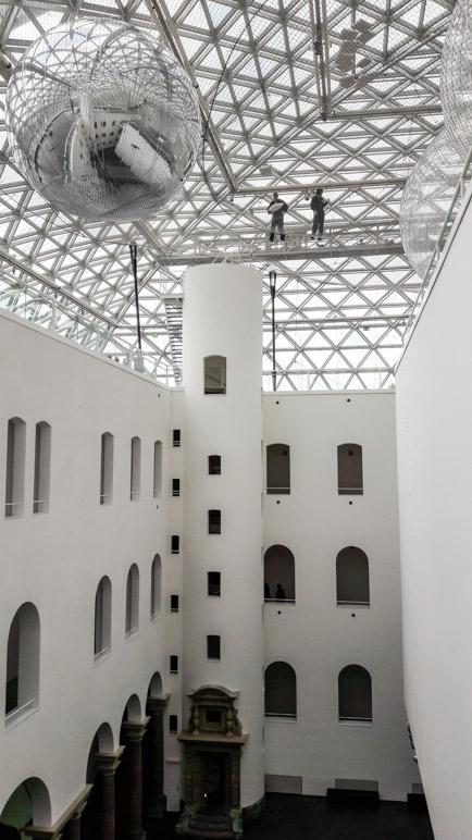 Das Atrium des Museums K21