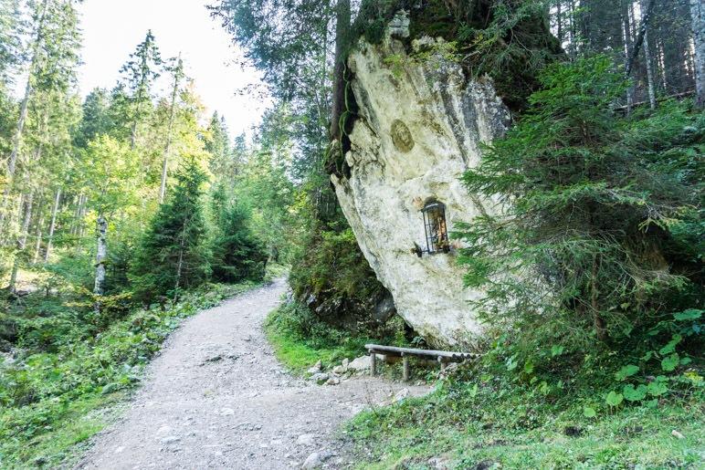 Die Bank unter dem Fels: Jesu Rast