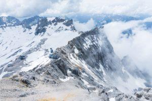 Zugspitzeck und Schneefernerkopf