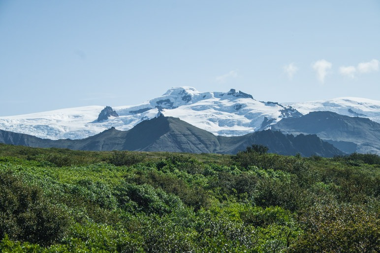Islands höchster Berg, der Hvannadalshnúkur