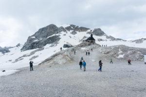 Die Kapelle vor dem Schneefernerkopf