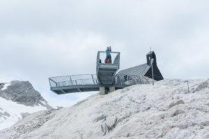 Der Minispix, eine kleine Nahcbildung des Alpspix am Osterfelderkopf