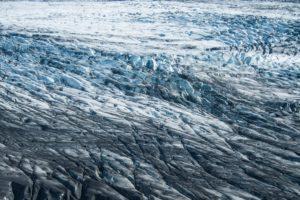 Das zerklüftete Eis des Skaftafellsjökull
