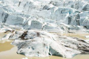 Das Eis des Svinafellsjökull
