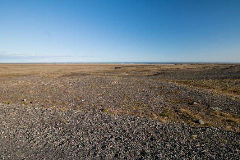 Die Weite des Breiðamerkursandur