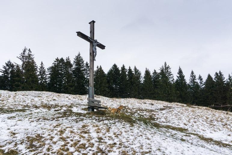 Das Almkreuz der Holzeralm