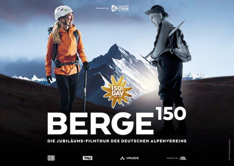 BERGE 150 - Die Jubiläums-Filmtour des Deutschen Alpenvereins