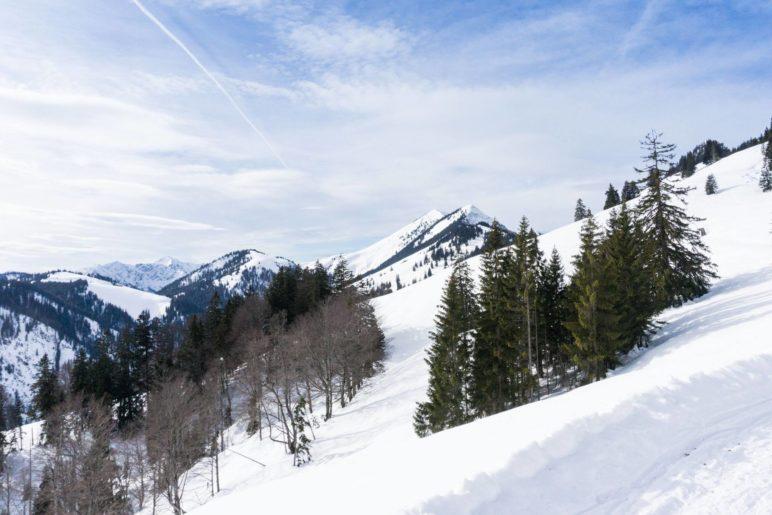 Der Große Traithen und das Steilner Joch