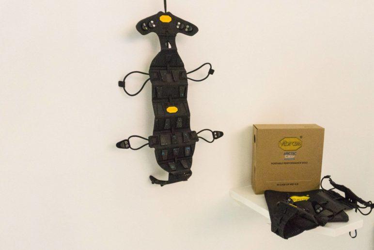 Sieht an der Wand aus wie ein Insekt: Die Vibram Portable Performance Sole