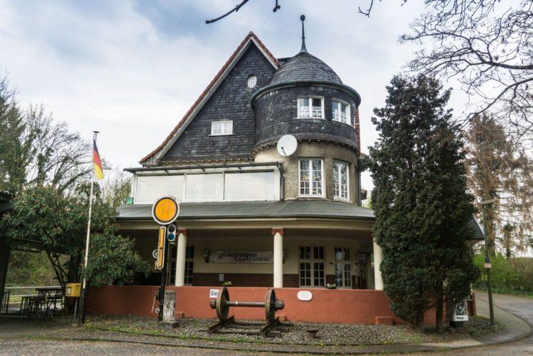 Der Bahnhof Solingen-Schaberg