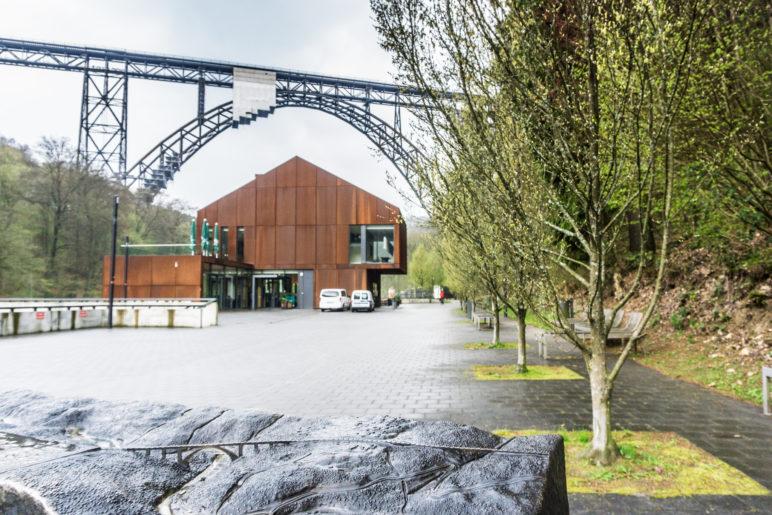 Das Tastmodell, Haus Müngsten und die Brücke