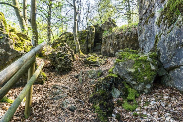 Felsen im Gebiet des Fahnensteins