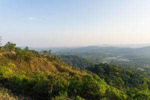 Aussicht vom Raja Seat in Coorg / Madikeri