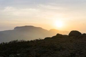 Das frühe Aufstehen hat sich gelohnt. Ein wunderbarer Sonnenaufgang