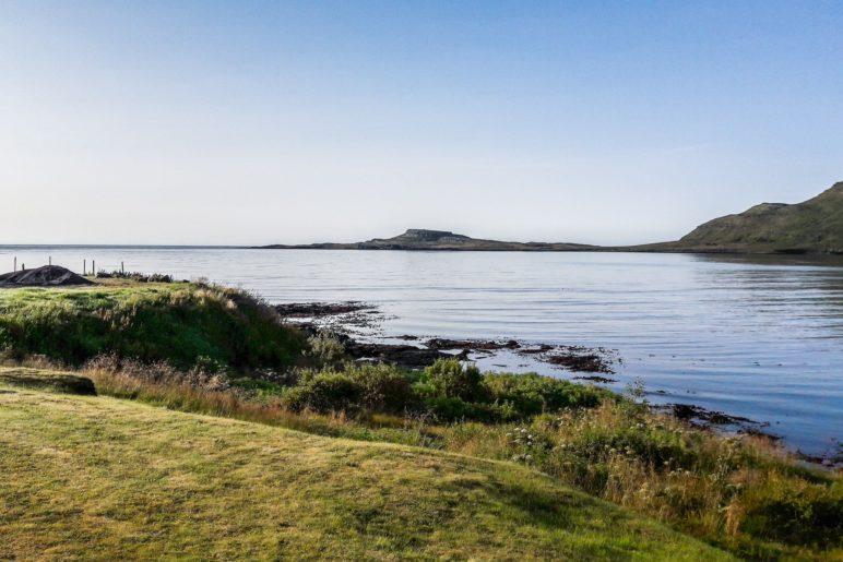 Der morgendliche Ausblick in Stöðvarfjörður