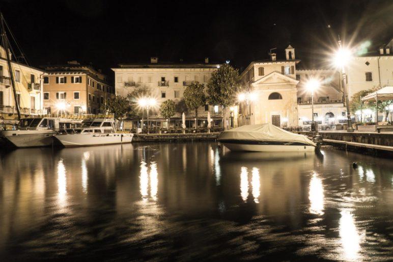Porto Malcesine, der kleine Hafen mitten in der Altstadt