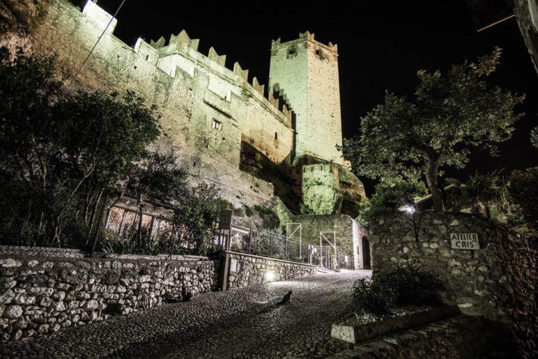 Das Castello, die Burg von Malcesine