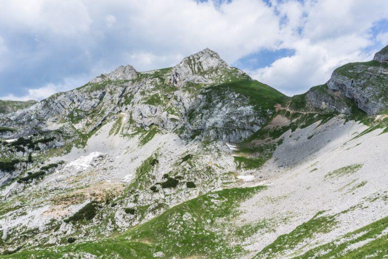 Auf die Hochiss, den höchsten Berg des Rofan-Gebirges