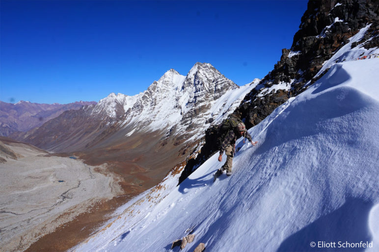 Eliott Schonfeld auf der Himalaja-Durchquerung - Foto: Eliott Schonfeld