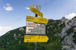 Der höchste Punkt: Das Hupfleitenjoch auf 1750 Metern HöheDer höchste Punkt: Das Hupfleitenjoch auf 1750 Metern Höhe