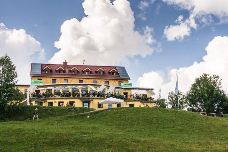 Das Kreuzeckhaus, Schlusspunkt der heutigen Wanderung