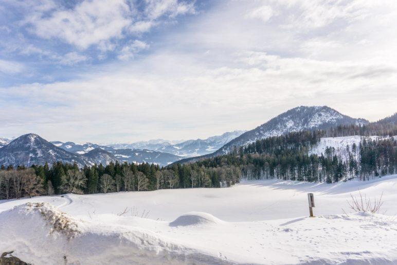 Schöner Bergblick vom Berggasthof Hohe Asten