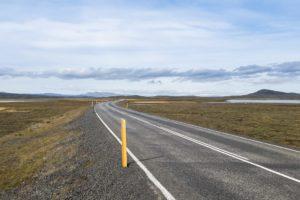Auf der Ringstraße im Norden, in Richtung Mývatn