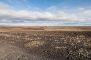 Mondlandschaft nördlich des Dettifoss