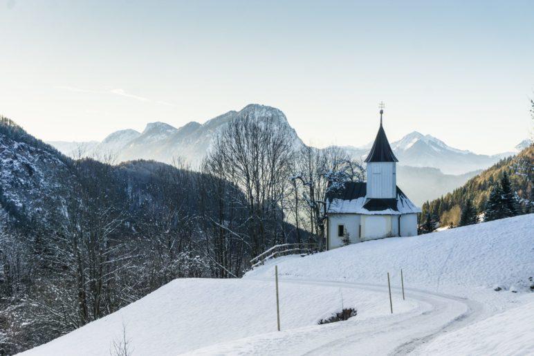 Die Antoniuskapelle im Kaisertal wurde im Jahr 1711 erbaut