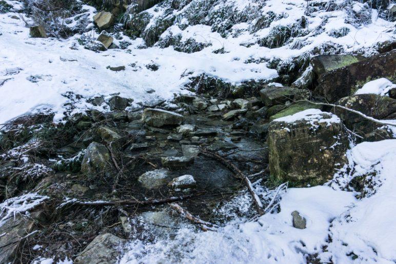 Bachquerung über Trittsteine