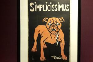 Die Bulldogge des Simplicissimus