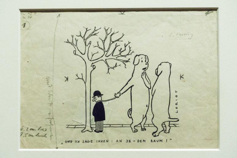 Und ich sage Ihnen: An je-dem Baum!